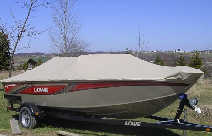 how to clean boat canvas