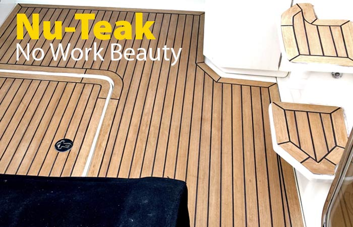 NEW Nu Teak Composite No Maintenance Flooring ...